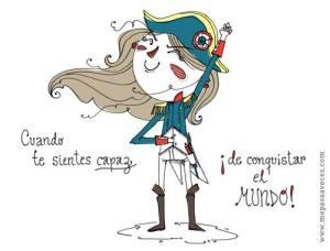 "Ilustración de ""Me pasa a veces"" de Vero Rodríguez"