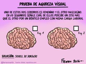 Ferran Martin diferencia de cerebros dia internacional de la mujer
