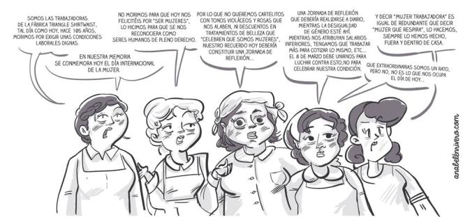 Ana Belén Rivero dia intgernacional de la mujer